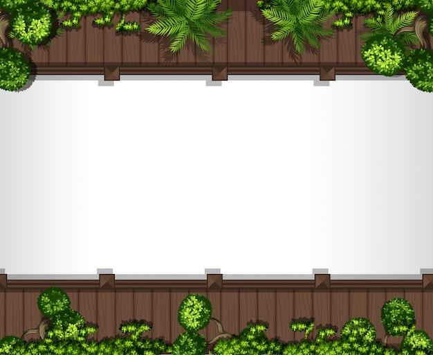 Luftbild von weg und pflanzen