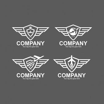 Luftfahrt Logo Vorlagen