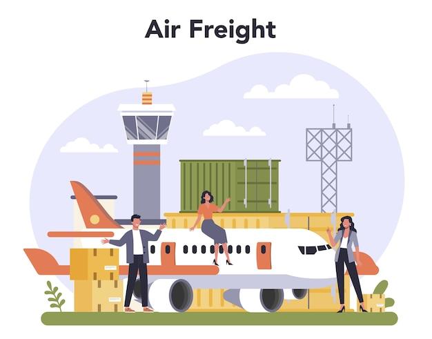 Luftfracht- und logistikindustrie