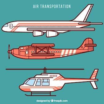 Luftverkehr sammlung