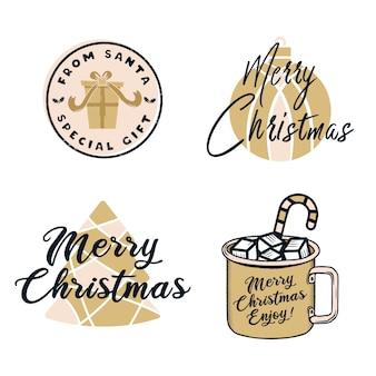 Lustige frohe weihnachten