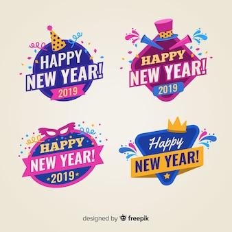 Lustige neujahrs-kollektion