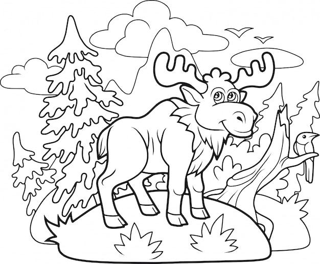 Lustiger elch