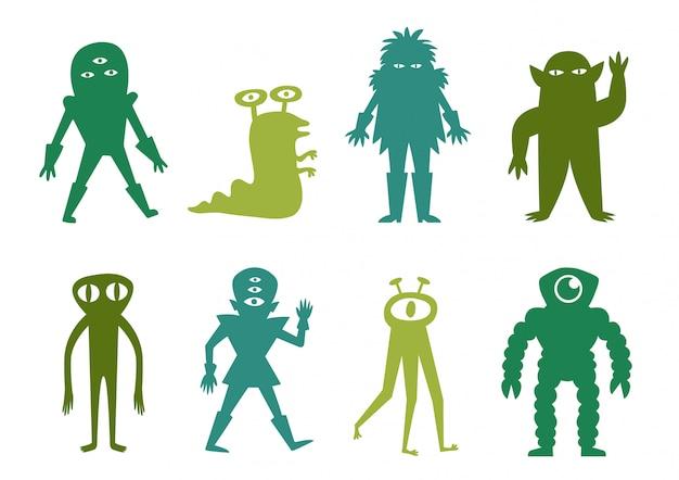 Lustiges alien pack