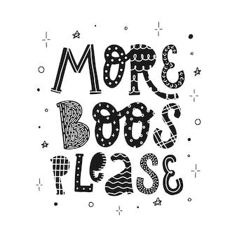 Lustiges halloween typografie zitat