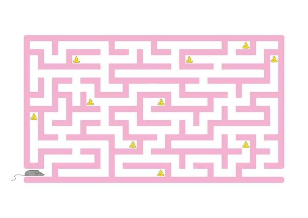 Lustiges labyrinth.