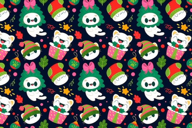Lustiges weihnachtsmuster