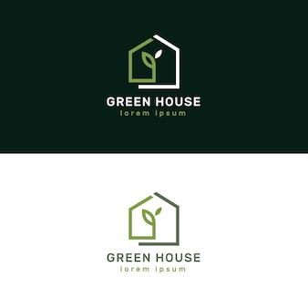 Luxuriöse und elegante immobilienlogos