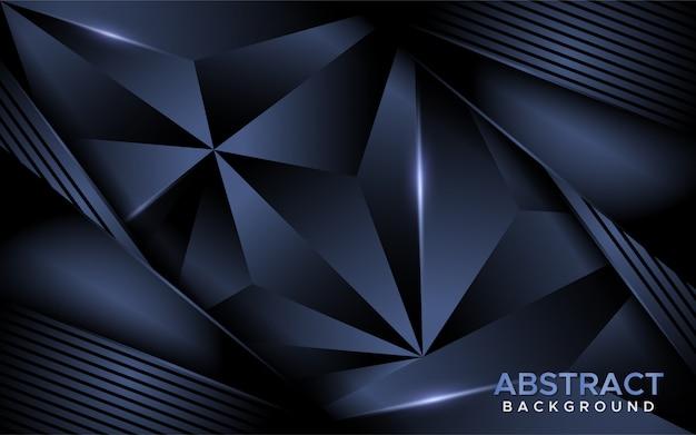 Luxuriöser abstrakter dunkler marinemosaikhintergrund.