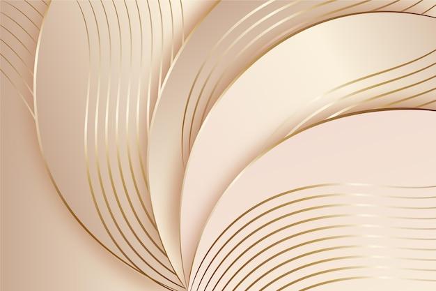Luxuriöser hintergrund mit goldenen details