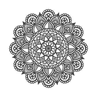 Luxuriöses dekoratives mandala-design