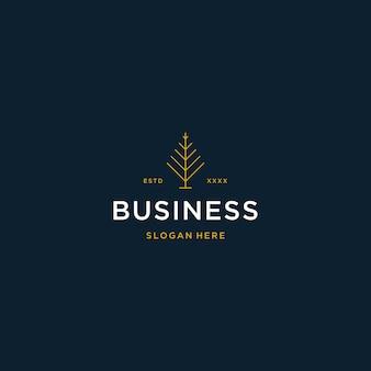 Luxuriöses logo für immobilien