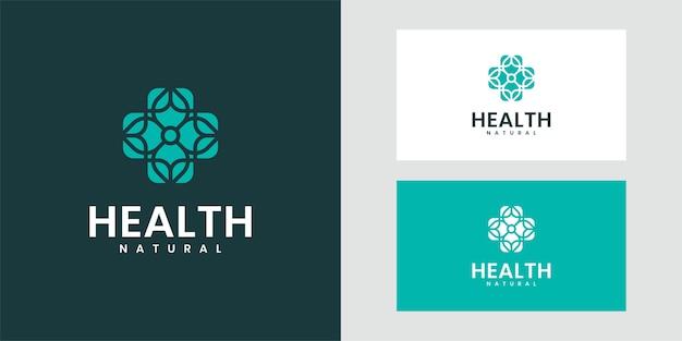 Luxuriöses naturdesign-logo, das inspiriert