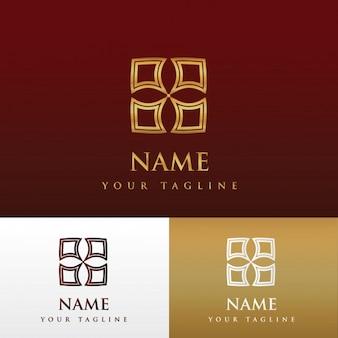 Luxuriöses Logo Design