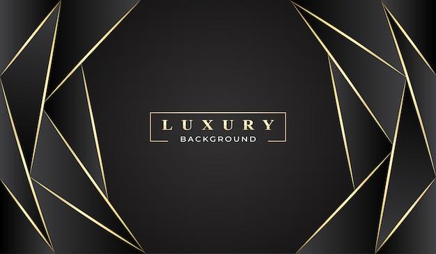 Luxus abstrakten schwarzen hintergrund