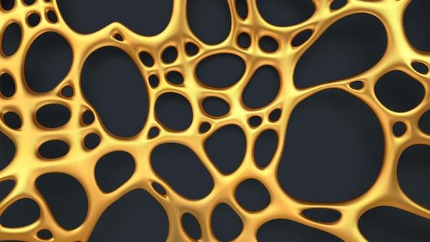 Luxus abstrakter goldhintergrund
