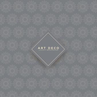 Luxus art deco muster