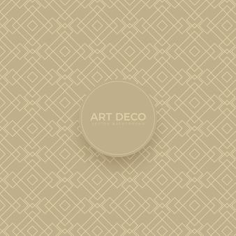 Luxus art deco nahtlose hintergrundgitter