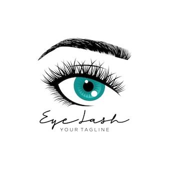 Luxus beauty wimpern logo