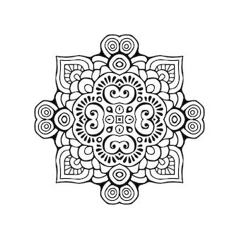 Luxus dekorative mandala illustration