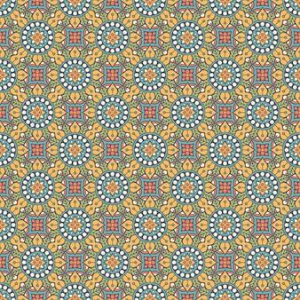 Luxus dekoratives mandalamuster