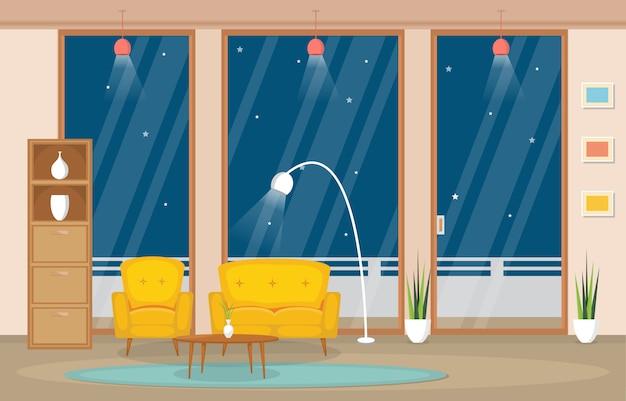 Luxus deluxe wohnzimmer penthouse apartment innenmöbel