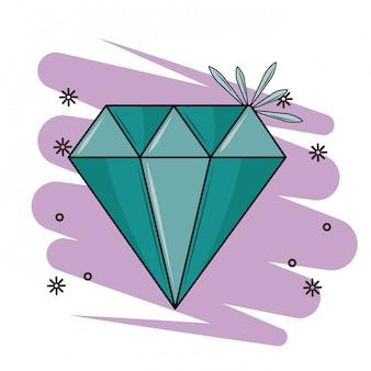 Luxus diamant stein