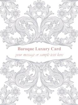 Luxus-einladungskarte