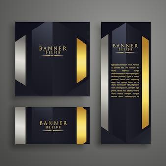 Luxus-einladungskarten-design-set