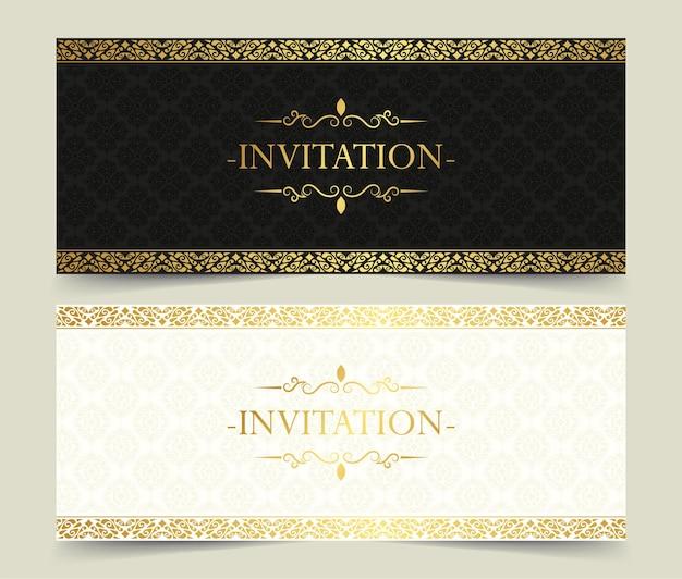 Luxus-einladungskartenset