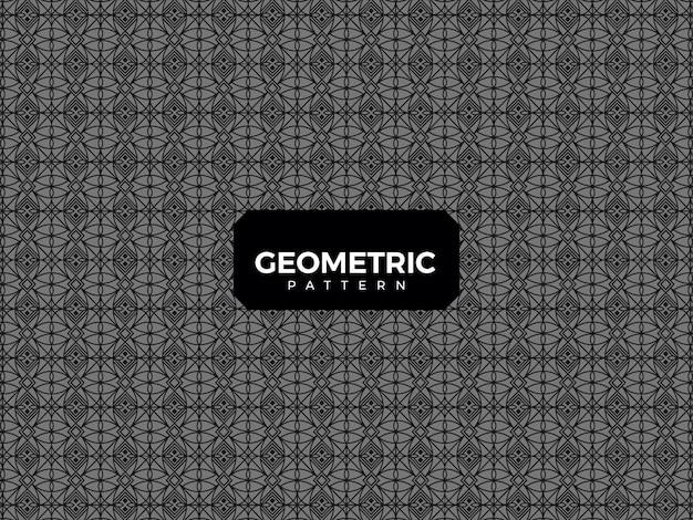 Luxus geometrisches muster