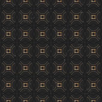 Luxus gold mandala muster