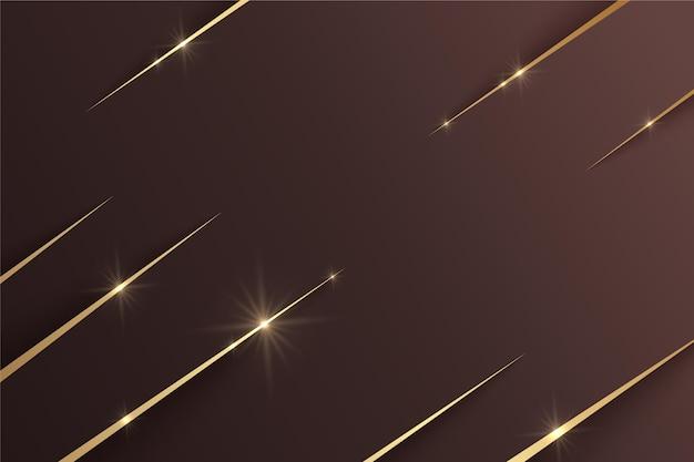 Luxus goldener hintergrund mit farbverlauf