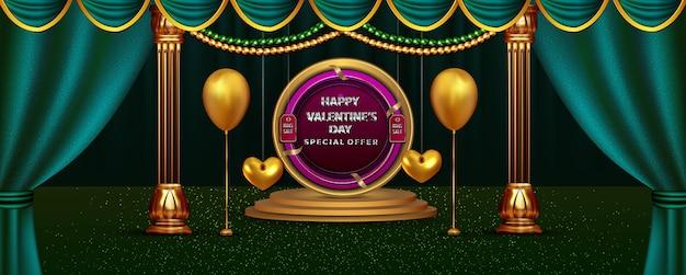 Luxus happy valentinstag sale rabatt dekoration bis zur dekoration mit realistischen
