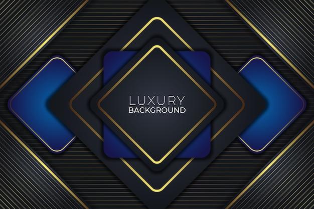 Luxus hintergrund dunklen und blauen stil