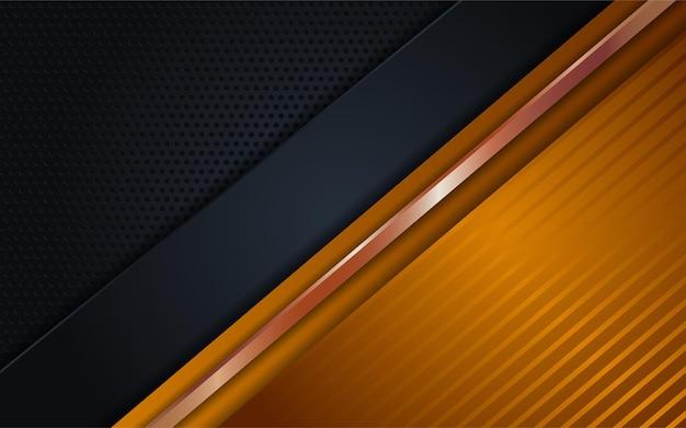 Luxus-hintergrundkombinationen aus dunklem gold