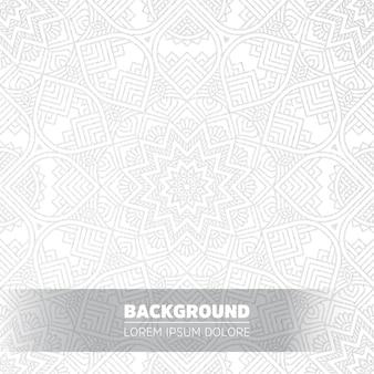 Luxus licht mandala hintergrund