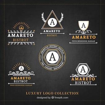 Luxus-logo-sammlung