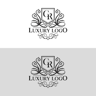 Luxus-logo vorlage vektor-illustration