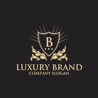 Luxus logo vorlage