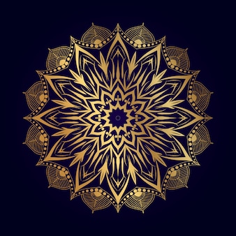 Luxus-mandala-design