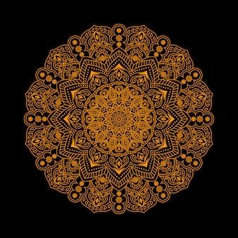Luxus mandala design