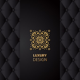 Luxus-mandalaentwurf