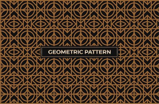 Luxus nahtlose geometrische muster abstrakt