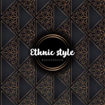 Luxus nahtlose muster mandala