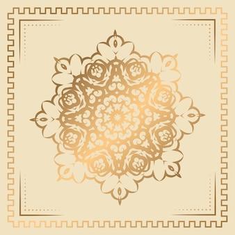 Luxus ornament mandala hintergrund