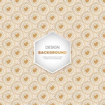 Luxus ornamental mandala design
