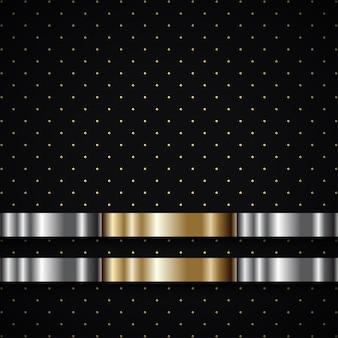 Luxus schwarzer hintergrund