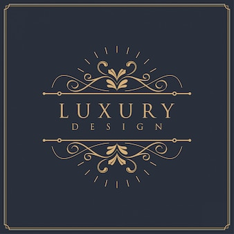Luxus-template-logo-design