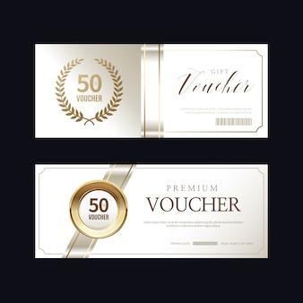 Luxus vip-einladungen und coupon-hintergründe